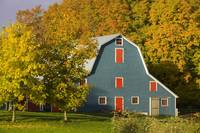 Barn In Autumn, Hunter River, Prince Edward Island