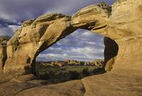 The Broken Arch Arches National Park, Utah