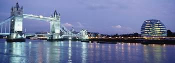 Tower Bridge And The Greater London Authority Buil