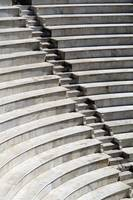 Amphitheatre Seating In Patras, Close-Up Greece