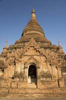 Myanmar, Bagan, Sinmyarshin Pahto, Entrance