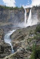 The Twin Falls In Yoho National Park, British Colu