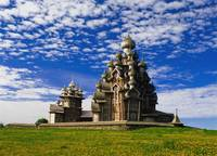 Transfiguration Cathedral On Kizhi Island