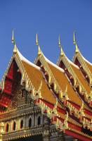 Bangkok, Thailand, Wat Benjamabophit, Top Of Gold