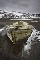 Water Boat Ruins, Whalers Bay On Deception Island,