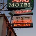"""Marina Motel, Welcome"" by thewmatt"