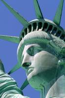Close-Up Of Statue Of Liberty, Manhattan, New York