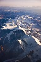 Aerial view of Mount Torbert the Tordrillo Mountai