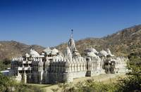 India, Rajasthan, Ranakpur, The Jain Temple Of Ran