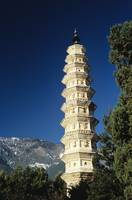 China, Dali, One Of The Three Pagodas