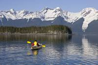 Alaska, Juneau, Favorite Passage, Kayaking Through