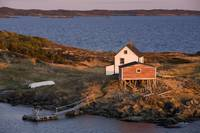 House And Stage, Change Islands, Newfoundland