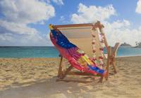 Hawaii, Oahu, Kailua, A Lounge Chair On The White