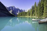 Moraine Lake And Valley Of The Ten Peaks, Banff Na