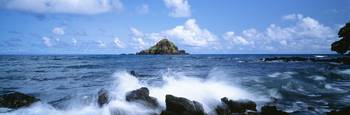Hawaii, Maui, Hana, View Of Alau Islet From Hana S