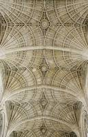 Ceiling Of King's College Chapel, Cambridge, Engl