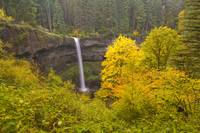 South Silver Falls In The Autumn In Silver Falls S
