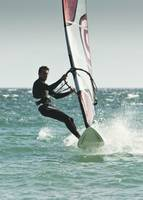 Windsurfing, Tarifa, Cadiz, Andalusia, Spain