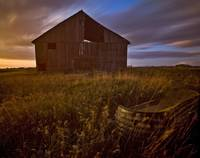 Abandoned Building, Saskatchewans Prairies, Canada