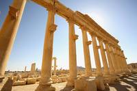 Ancient Ruins Of Palmyra, Syria