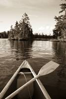 Boat On The Water, Lake Of The Woods, Ontario, Can