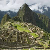 The Historic Inca Site Machu Picchu Peru