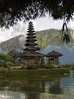 Ulun Danu Temple On Beratan Lake, Bali, Indonesia