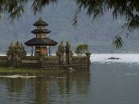 Bali, Indonesia, Ulun Danu Temple On Beratan Lake