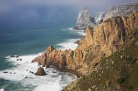 Cliff And Seascape Of Cape Roca Sintra, Portugal