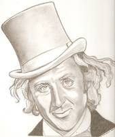 Gene Wilder drawing