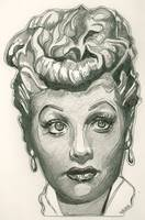 Lucille Ball drawing