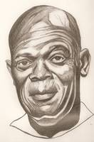 Samuel L Jackson drawing