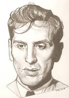 Bobby Fischer drawing