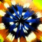 """Busstle Blu small"" by LynnArmedeDeBeal"