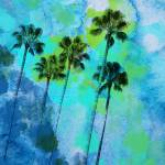 """Palm trees on the beach"" by Aneri"