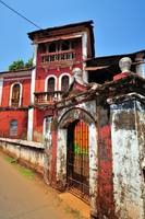 Goa's Traditional Portuguese House in Almost Ruins
