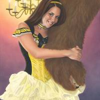 Belle and Her Beast Art Prints & Posters by Kevin Clark