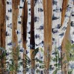 """Birches at Twilight III"" by Aneri"