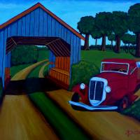Country Roads Art Prints & Posters by Anthony Dunphy