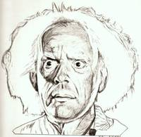 Christopher Lloyd drawing