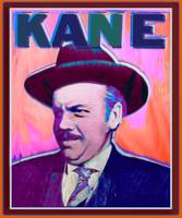 Citizen Kane Orson Welles Campaign Poster Color