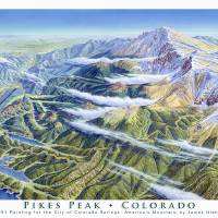 Pikes Peak Art Prints & Posters by James Niehues