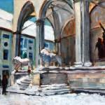 """""""Snowy Odeonsplatz"""" by zurika"""