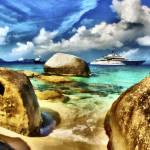 """Superyacht Eclipse near Virgin Gorda"" by who"