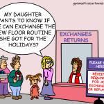 """Exchanges"" by gymnasticscartoons"