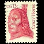 """Stamp Crazy Horse"" by SilverLeaf"