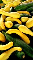 Yellow Squash 'n Green Cucumbers