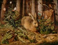 Hans Hoffmann A Hare In The Forest