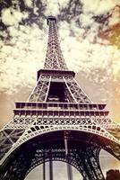 Eiffel Tower Paris Vintage Fine Art Photography