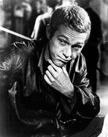 Steve McQueen hand on chin
